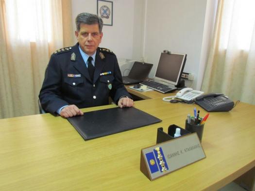 Ο Ιωάννης Νταλαχάνης νέος Αστυνομικός Διευθυντής Αιτωλίας
