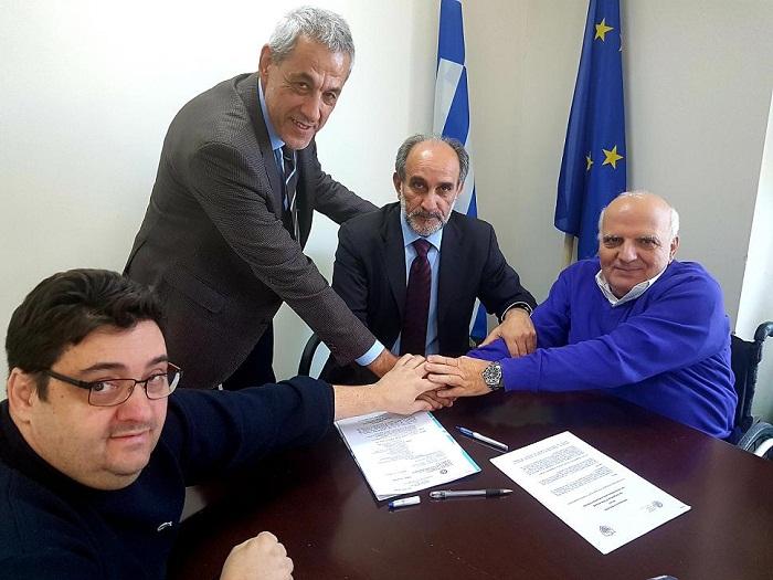 Γραφείο στη Δυτική Ελλάδα αποκτά η Ελληνική Παραολυμπιακή Επιτροπή