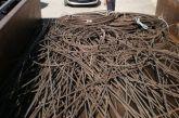 «Κυνηγοί μετάλλων»  ξήλωσαν σχεδόν ένα τόνο σίδηρο από εργοστάσιο στο Αγρίνιο