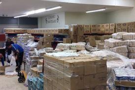 Συνεχίζεται η διανομή κρέατος και ειδών οπωροπωλείου σε δικαιούχους ΤΕΒΑ στο Αγρίνιο