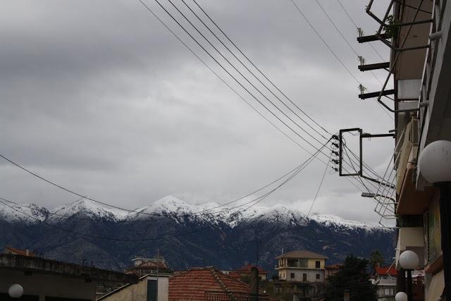 Χιόνια στα 300 μ. υψόμετρο αναμένονται σήμερα σε Δυτική Στερεά και Ήπειρο