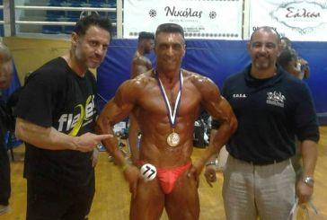 Χρήστος Ζαφρακάς: από τo Ορεινό Θέρμο στην πρώτη θέση του bodybuilding