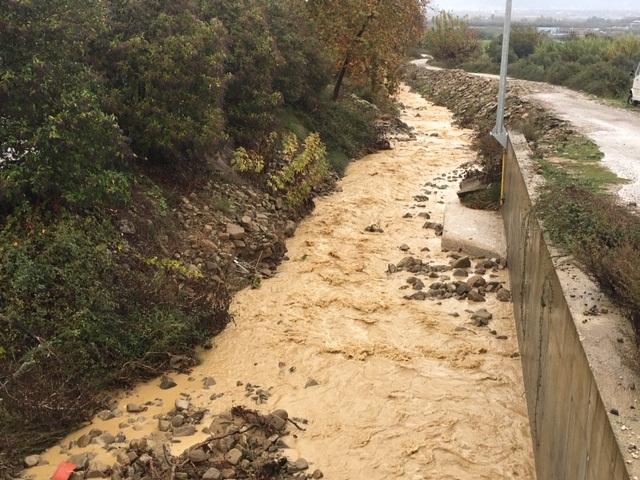 Ανησυχία για νέες πλημμύρες στο Ζευγαράκι