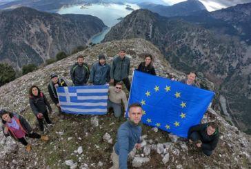 Αποχαιρετώντας το 2018 από τα ψηλά βουνά της Κοιλάδας του Αχελώου