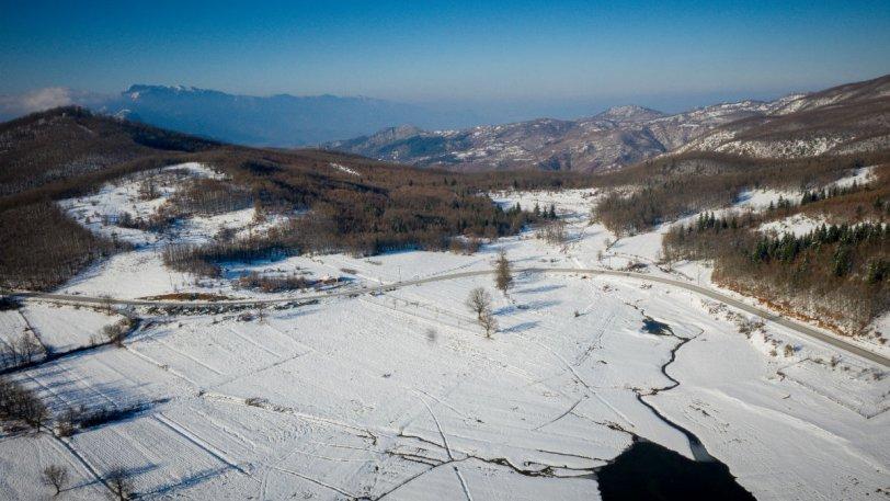 To 8% της Ελλάδας ήταν καλυμμένο από χιόνι μετά τα Χριστούγεννα