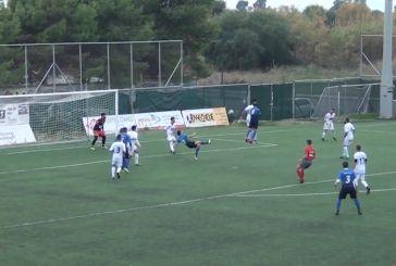 Το εντυπωσιακό γκολ του Βασιλόγιαννη στον αγώνα ΑΕΜ – Ατρόμητος Αντιρρίου (βίντεο)