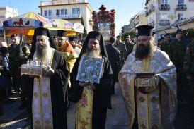 Προεξάρχοντος του Μητροπολίτη Κανάγκας ο πάνδημος εορτασμός του Αγίου Σπυρίδωνος στο Μεσολόγγι (φωτο)