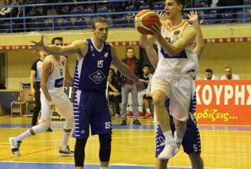 Β' Εθνική Μπάσκετ: ήττα για τον ΑΟ Αγρινίου από το πρωτοπόρο Ανατόλια