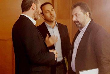 Ο Κ. Μητρόπουλος στη συνάντηση της ΕΝΠΕ με τον Σταύρο Αραχωβίτη