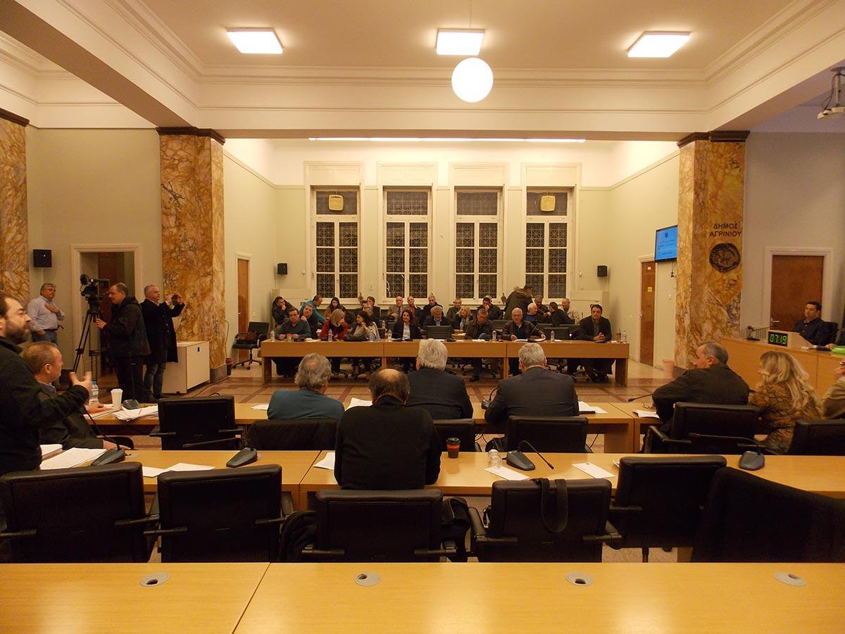 Κατά πλειοψηφία ο προϋπολογισμός του δήμου Αγρινίου