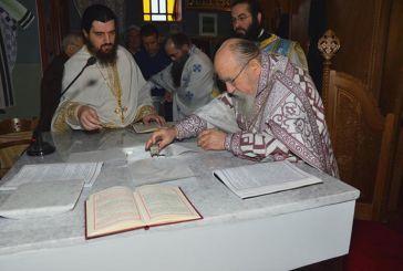 Συγκίνηση στα εγκαίνια του Ι.Ν. Αποστόλων Πέτρου και Παύλου στα Διαμαντέικα Αγρινίου (φωτο)