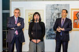 Εγκαινιάστηκε η έκθεση «Τρεις γενιές Ζωγραφικής-Χαρακτικής-Γλυπτικής» στο ίδρυμα Μ. Κακογιάννης