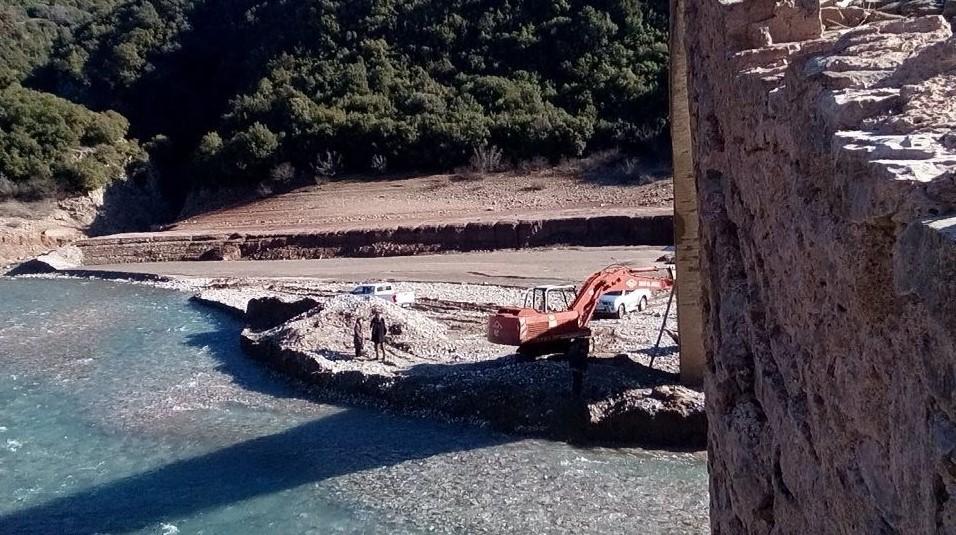 Σε εξέλιξη από το Υπουργείο Πολιτισμού οι εργασίες διάσωσης της Γέφυρας Μανώλη