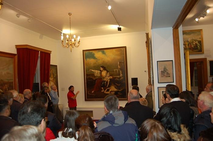 Η επίσκεψη των Ευρωπαίων Δημοσιογράφων στο Μεσολόγγι (φωτο)