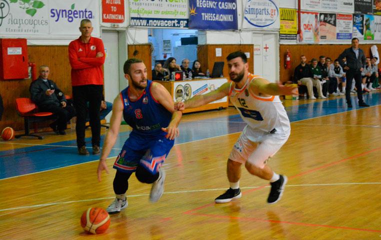 Β' Εθνική Μπάσκετ: Ήττα στη Βέροια για τον ΑΟ Αγρινίου