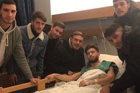 Παναιτωλικός: Επισκέφτηκαν τον Γιαννιώτη στο νοσοκομείο