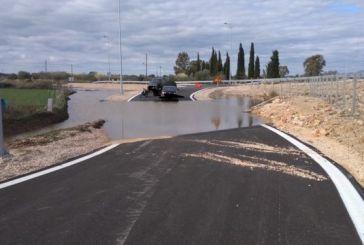Παράδρομος του αυτοκινητόδρομου Ακτίου -Αμβρακίας με τις πρώτες βροχές μετετράπη σε λίμνη!