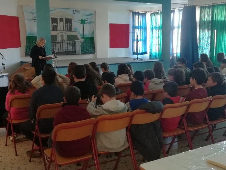 Ενημερωτικές δράσεις για τον εθελοντισμό στα Δημοτικά του Δήμου Αγρινίου
