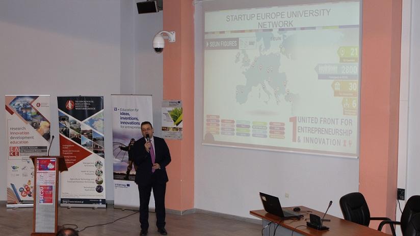 Εκδήλωση του ΤΕΙ Δυτικής Ελλάδας στα πλαίσια της πρωτοβουλίας «Startup Europe comes to universities»