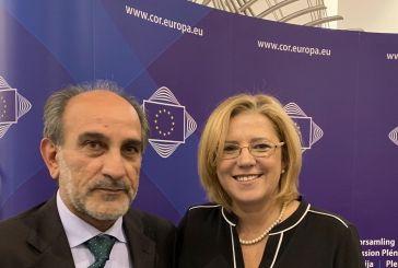 Συνάντηση Κατσιφάρα με την Ευρωπαία Επίτροπο Κορίνα Κρέτσου