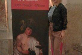 Με το βραβείο Caravaggioτιμήθηκε στο Μιλάνο η Μαρίνα Κουτσοσπύρου