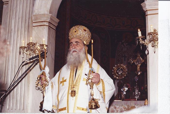 Ετήσιο μνημόσυνο του μακαριστού Μητροπολίτη Ευρίπου Βασιλείου την Κυριακή στο Αγρίνιο
