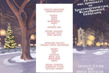 Χριστουγεννιάτικη  Φιλανθρωπική Εκδήλωση στο Μουσικό Σχολείο Αγρινίου