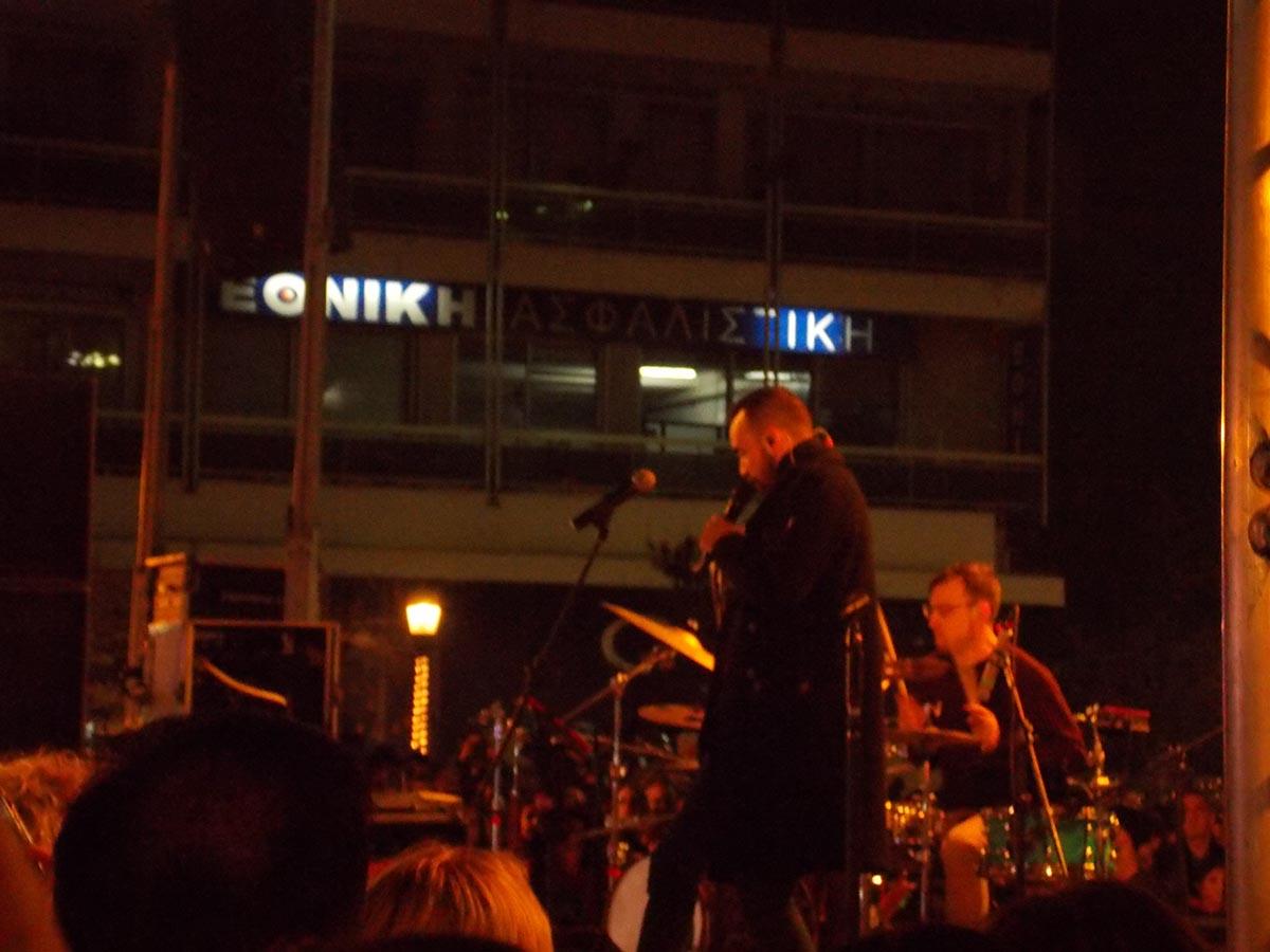 To opening act που δεν… έγινε στη συναυλία Μουζουράκη στο Αγρίνιο