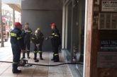 Φωτιά σε κατάστημα αναστάτωσε το κέντρο του Αγρινίου