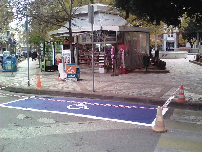 Έργα σήμανσης σε δρόμους του Αγρινίου
