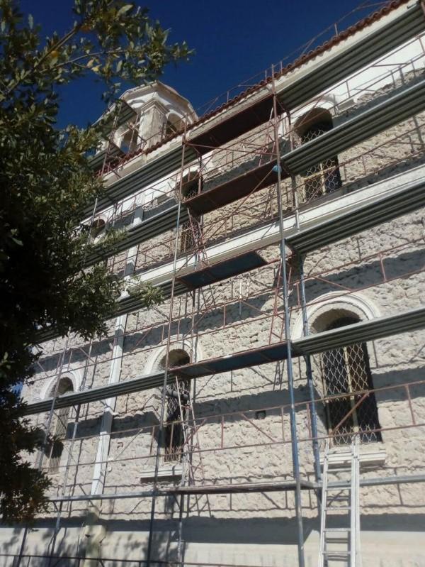 Εργασίες ανακαίνισης του Ι.Ν. Αγίου Ιωάννη Θεολόγου Φυτειών (φωτο)