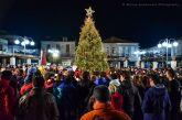 Φωταγωγείται απόψε το χριστουγεννιάτικο δένδρο στο Θέρμο