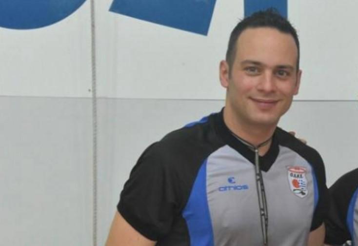 O Βασίλης Τσακαλογιάννης από το Αγρίνιο θα σφυρίζει στην Basket League
