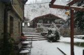 Χιονίζει στην Ορεινή Ναυπακτία- χωρίς προβλήματα μέχρι τώρα η κυκλοφορία (video)