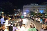Χριστουγεννιάτικο παραδοσιακό γλέντι στην πλατεία του Αγρινίου