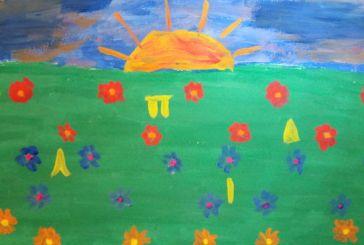 Μεγάλη διάκριση για ζωγραφιά μαθήτριας από το Λουτρό