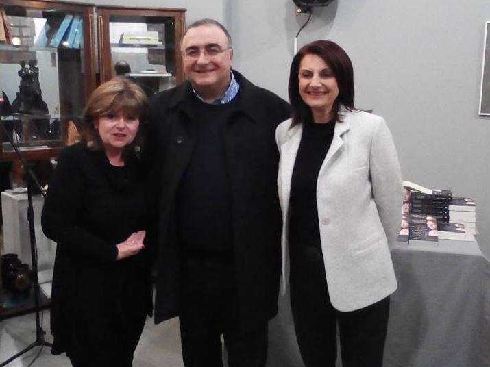 Παρουσιάστηκε το βιβλίο «Το Ρόδο και η άκανθα» της Βησσαρίας Ζορμπά- Ραμμοπούλου στο Αγρίνιο