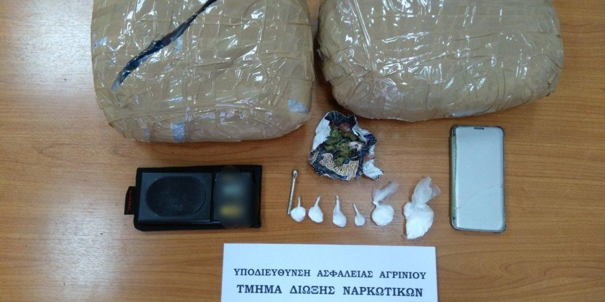 Συνελήφθη διακινητής ναρκωτικών στην Αμφιλοχία