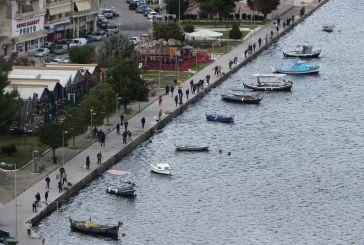 Αμφιλοχία: το μπατάρισμα της θάλασσας του Αμβρακικού