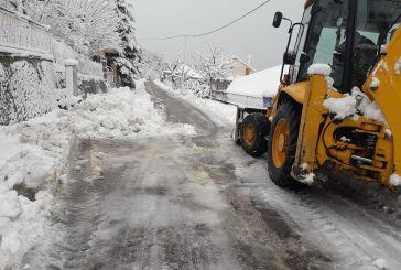 Αιτωλοακαρνανία-πρωί Παρασκευής: Παραμένουν κλειστοί δρόμοι στην Ορεινή Ναυπακτία- πού χρειάζονται αλυσίδες