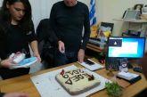 Η Εθελοντική Ομάδα Έρευνας Διάσωσης Μεσολογγίου έκοψε την πίτα της