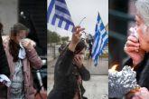 Διέλυσαν το συλλαλητήριο: Χημικά, ξύλο, μαχαιρώματα, λιποθυμίες