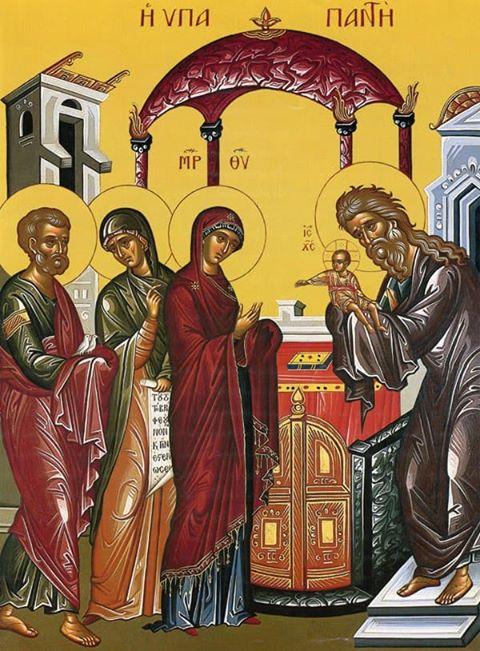 Αγρυπνία για την εορτή της Υπαπαντής στον Ιερό Ναό Αγίας Παρασκευής Αγρινίου
