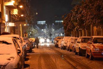 Xιόνισε στο Αγρίνιο! (φωτο & βίντεο)
