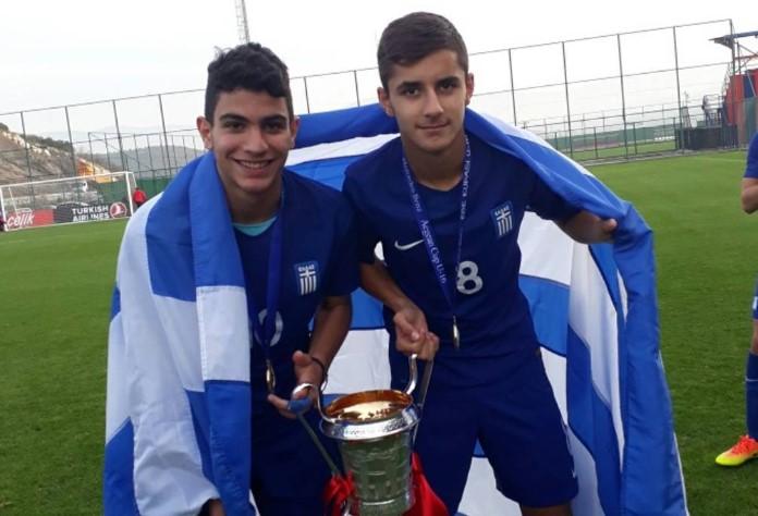 Κλήθηκαν ξανά στην Εθνική Παίδων Κ17 Κωνσταντόπουλος και Μπελεβώνης του Παναιτωλικού