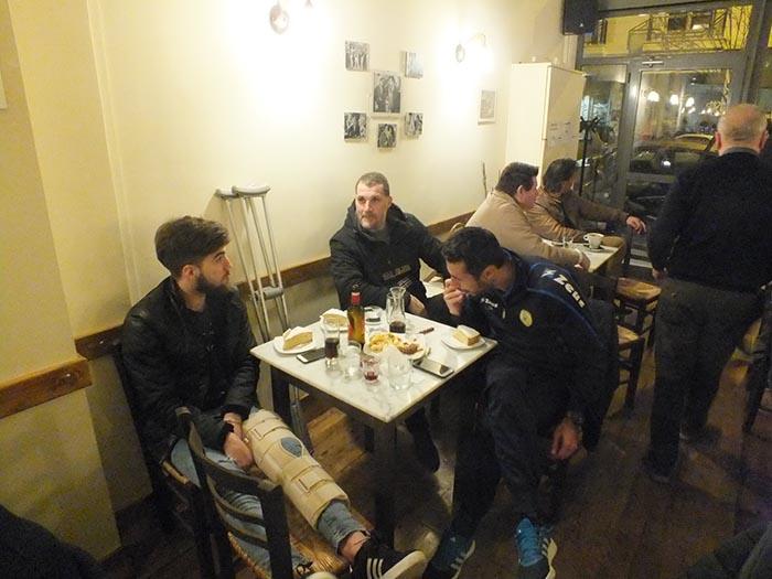 Στην κοπή πίτας της Θύρας 6 στην Αθήνα Κουτσοσπύρος, Τσέναμο και Γιαννιώτης (φωτο)