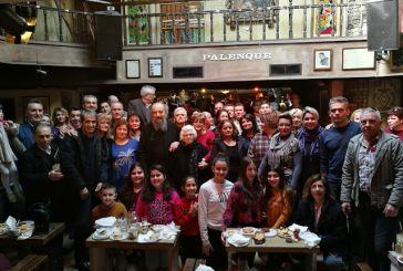 Έκοψαν την πίτα τους οι Βαλμαδιώτες στην Αθήνα (φωτο-video)