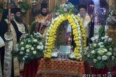 Λαμπρή η υποδοχή αποτμήματος του Ιερού Λειψάνου του Αθανασίου Πατριάρχου Αλεξανδρείας στην Κατούνα