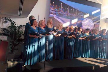 Εντυπωσιακή συναυλία και προβολή της Ναυπάκτου από τη Μικτή Χορωδία στο Μονακό (φωτο)