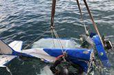 Η ανέλκυση του αεροσκάφους που έπεσε στο Κρυονέρι (Βίντεο-φωτό)